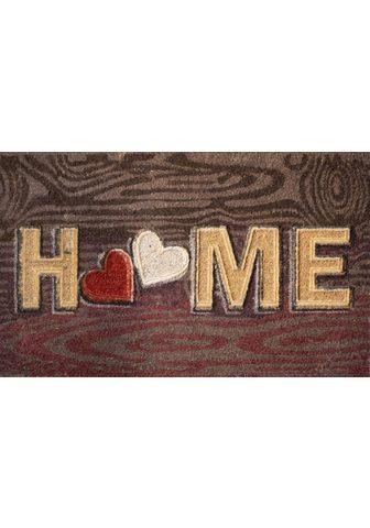 AKZENTE Durų kilimėlis »Wood Home« rechteckig ...