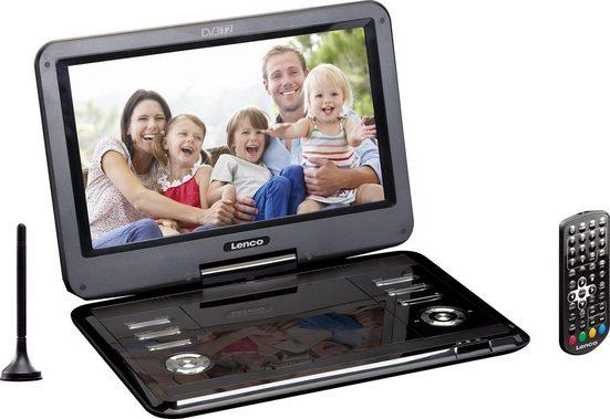 Lenco »DVP-1273 12Zoll mit DVB-T2« Portabler DVD-Player