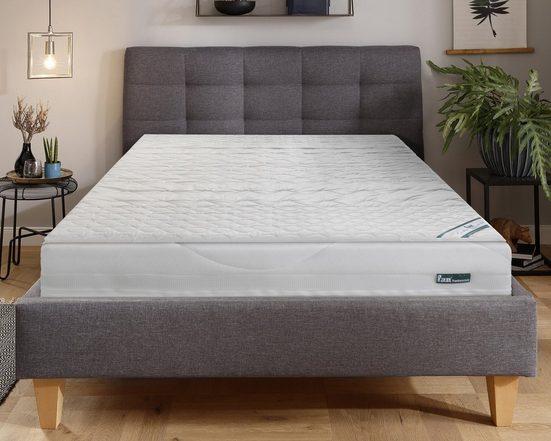 Topper »Medisan Softly«, f.a.n. Schlafkomfort, 4 cm hoch, Raumgewicht: 35, Baumwoll-Bezug kochfest bis 95°C