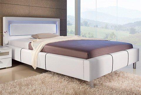 hapo polsterbett mit integrierter kopfteilbeleuchtung online kaufen otto. Black Bedroom Furniture Sets. Home Design Ideas
