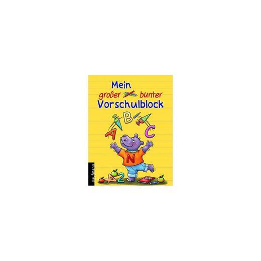 Kaufmann Verlag Mein großer bunter Vorschulblock