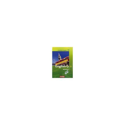 Cornelsen Verlag English G 21, Ausgabe D: 7. Schuljahr, Workbook m. CD-ROM (e