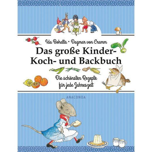 Anaconda Verlag Das große Kinder-Koch- und Backbuch