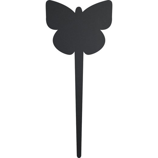 Einsteckschild Tafel Schmetterling, 5 Stück