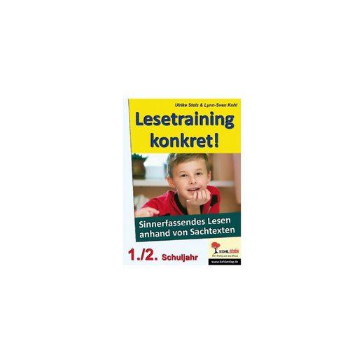 Kohl-Verlag Lesetraining konkret!, 1./2. Schuljahr
