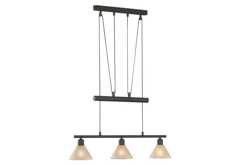 trio leuchten pendelleuchte 3 flammig kaufen otto. Black Bedroom Furniture Sets. Home Design Ideas