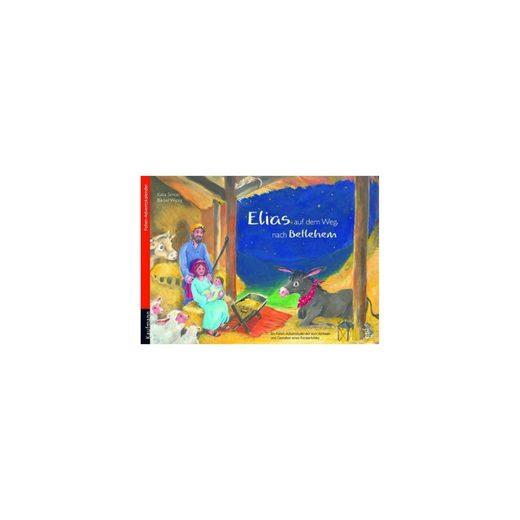 Kaufmann Verlag Elias auf dem Weg nach Betlehem, Folien-Adventskalender (30