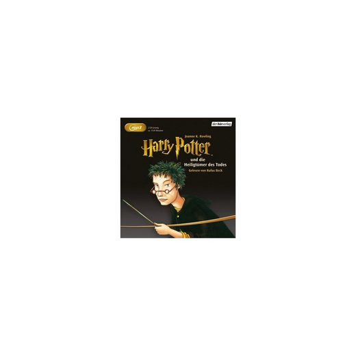Der HörVerlag Harry Potter und die Heiligtümer des Todes, 2 MP3-CDs