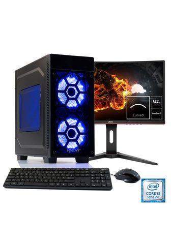 HYRICAN Žaidimų PC i5-9400F RTX 2060 + 60 cm (...