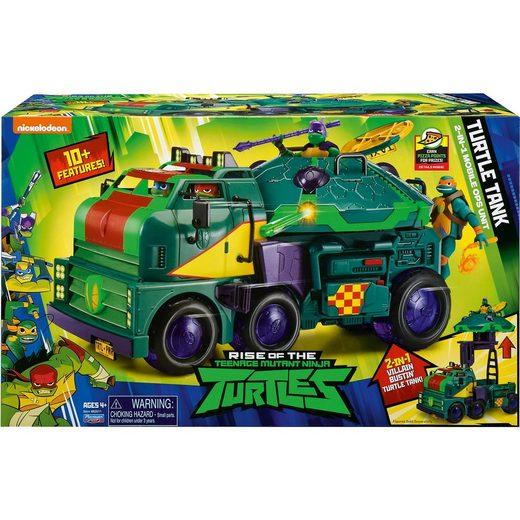Jazwares ROTMNT - Turtle Tank Mobile Kommandozentrale