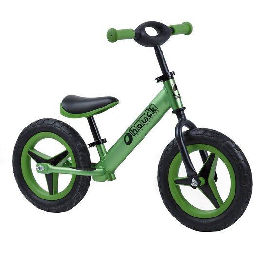 hauck TOYS FOR KIDS Laufrad Alu Rider 12, grün