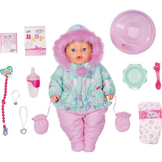 Zapf Creation® Exklusiv BABY born Soft Touch Winter Edition 43cm
