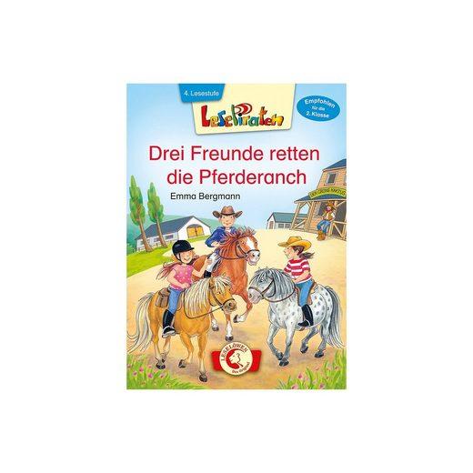 Loewe Verlag Lesepiraten: Drei Freunde retten die Pferderanch