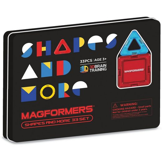MAGFORMERS Shapes and more 33P