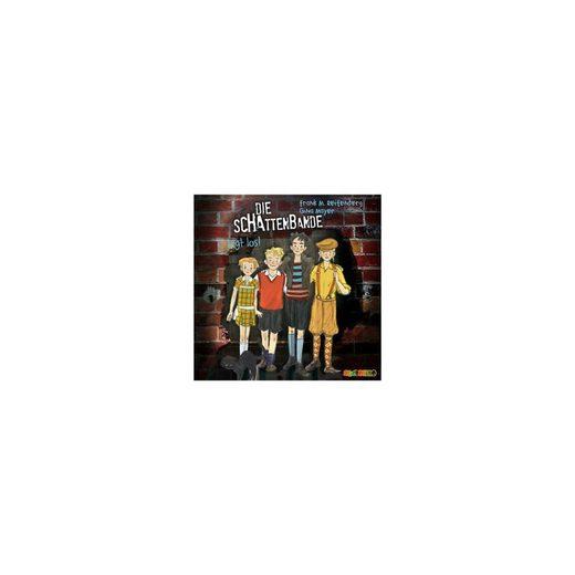 Audiolino Verlag Die Schattenbande legt los, 3 Audio-CDs