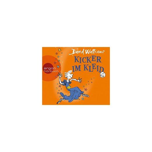 Argon Verlag Kicker im Kleid, 3 Audio-CDs