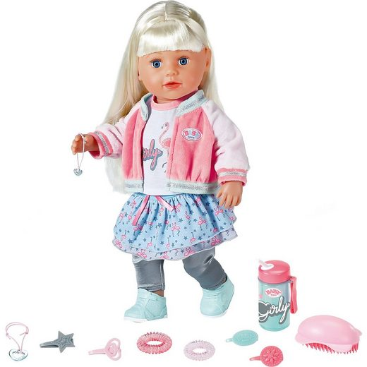 Zapf Creation 174 Exklusiv Baby Born Soft Touch Sister Blond