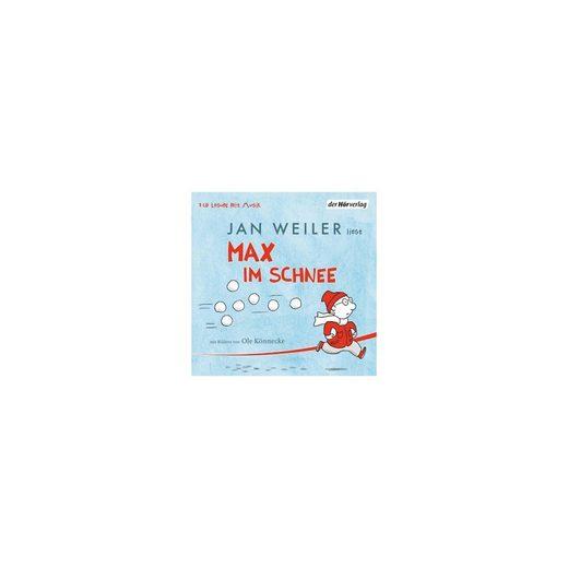 Der HörVerlag Max im Schnee, 1 Audio-CD
