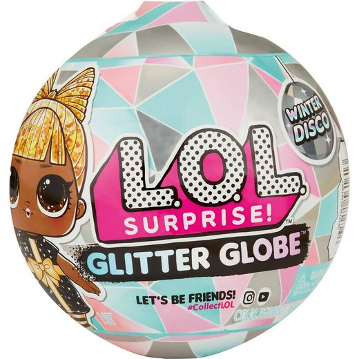MGA L.O.L. Surprise Glitter Globe Winter Disco Series A+B