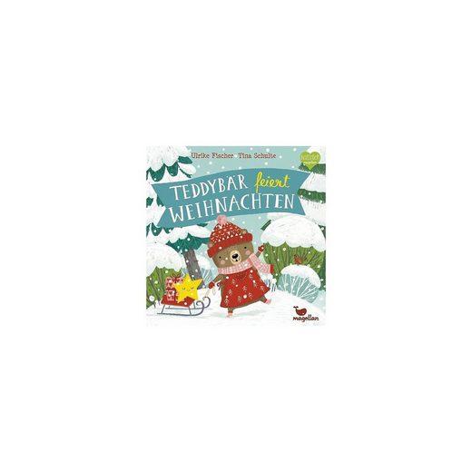 Magellan Teddybär feiert Weihnachten