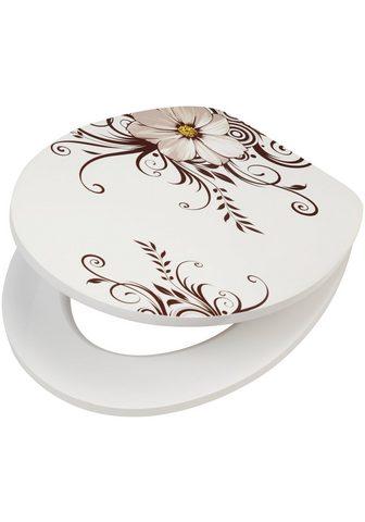 WC-dangtis »Blume« MDF Toilettensitz s...