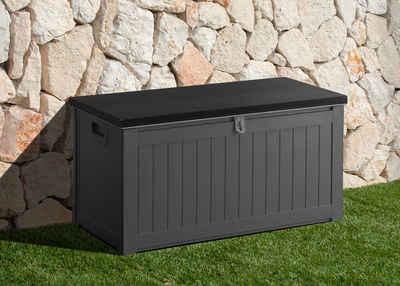 Gartengut Auflagenbox 96x458x493 Cm Hellgrau