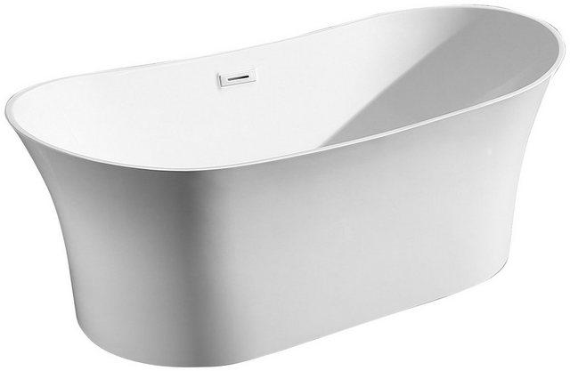 Badewannen und Whirlpools - WELLTIME Badewanne »Spring«, Freistehende Wanne, 168x80 cm  - Onlineshop OTTO