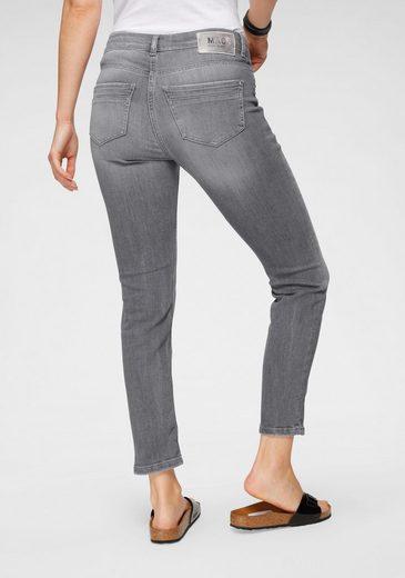 MAC 7/8-Jeans »Rich-Slim-Rock« Aufwendige Glitzernieten im vorderen Bereich