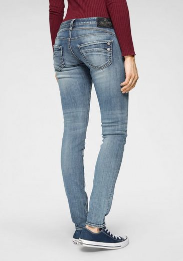 Herrlicher Slim-fit-Jeans »PIPER SLIM« Low Waist Powerstretch