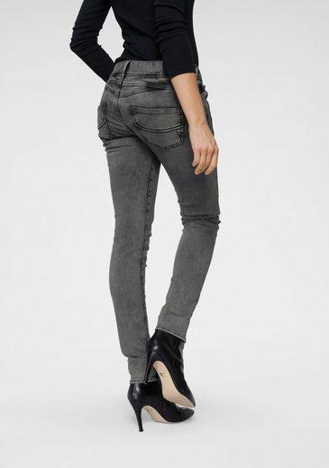 Herrlicher Slim-fit-Jeans »GILA SLIM« Powerstretch mit seitlichem Keileinsatz