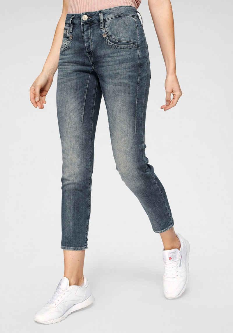 Herrlicher Boyfriend-Jeans »SHYRA CROPPED« High Waist Powerstretch