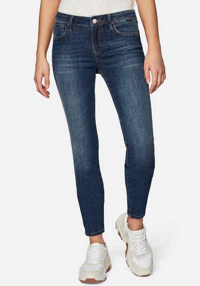 Mavi Skinny-fit-Jeans »ADRIANA« mit coolen Usedeffekten