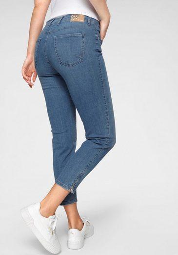 TONI Ankle-Jeans »Zip-Slim« Verkürzte Form mit Reißverschluss am Saum