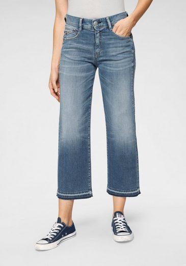 Herrlicher 7/8-Jeans »GILA SAILOR CROPPED« mit Cut-Off Säumen