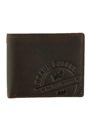 Braun Büffel Geldbörse »PARMA LP 8CS«, mit Pull-up-Effekt