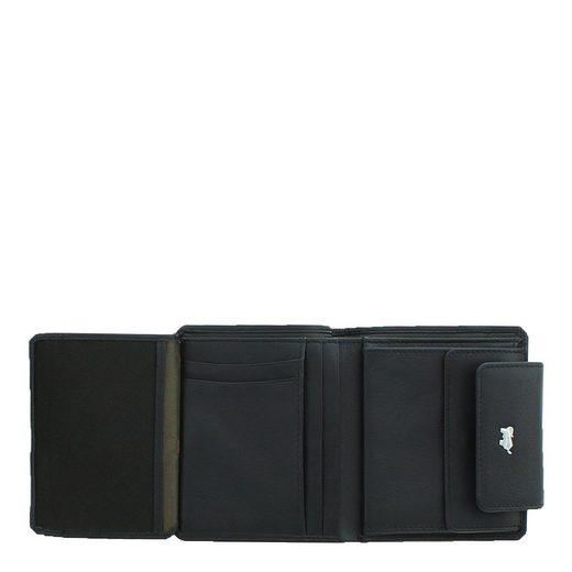 Braun Büffel Geldbörse »MIAMI«  aus softem Rindleder