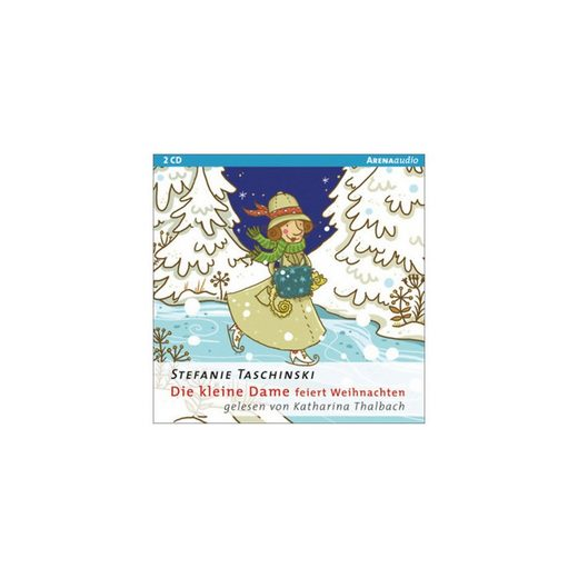 Arena Verlag Die kleine Dame feiert Weihnachten, 1 Audio-CD