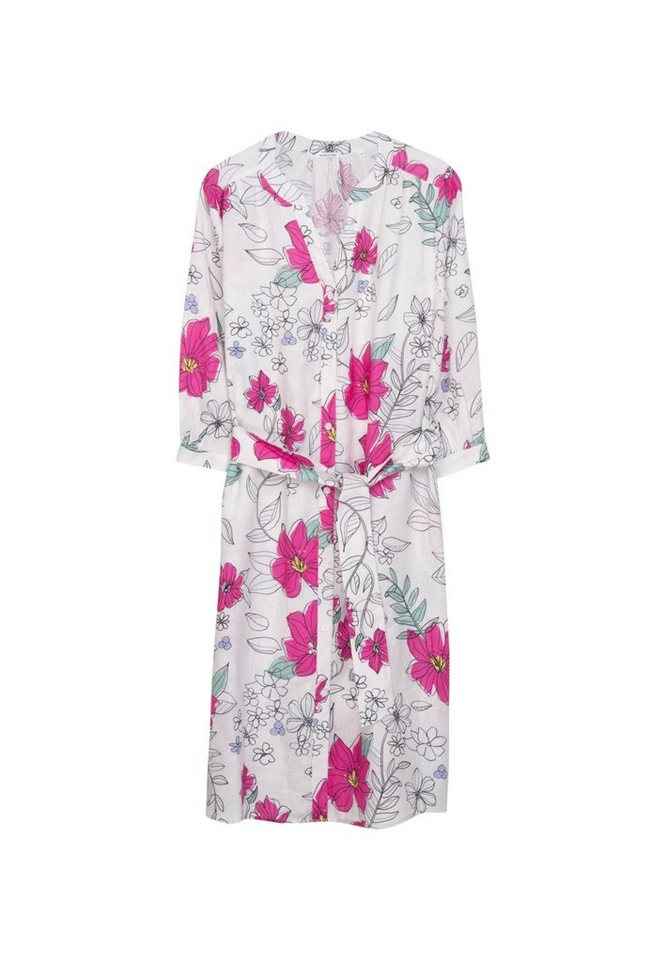 seidensticker -  Sommerkleid »Schwarze Rose« 3/4 Arm V-Neck Floral