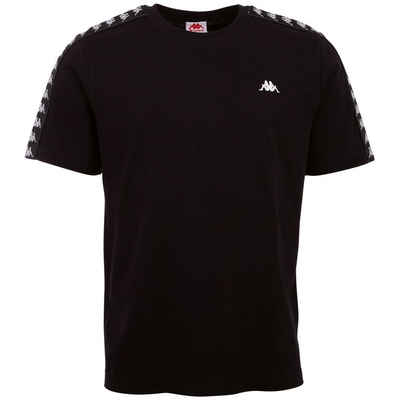 Kappa T-Shirt »JANNO KIDS« mit Jaquard-Logoband an den Ärmeln
