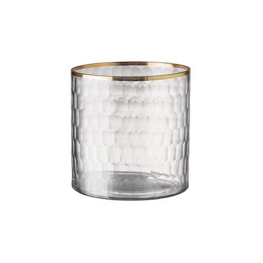 BUTLERS DELIGHT »Teelichthalter mit Goldrand«