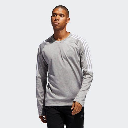 adidas Performance Sweatshirt »Own the Run 3-Streifen Sweatshirt« Response;Clima;RDY