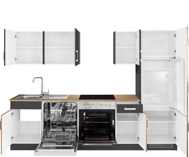 HELD MÖBEL Küchenzeile »Gera«| mit E-Geräten| Breite 270 cm | Küche und Esszimmer > Küchen > Küchenzeilen | HELD MÖBEL