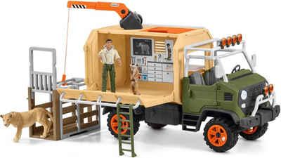 Schleich® Spielwelt »Wild Life, Großer Truck Tierrettung (42475)«, (Set), Made in Europe