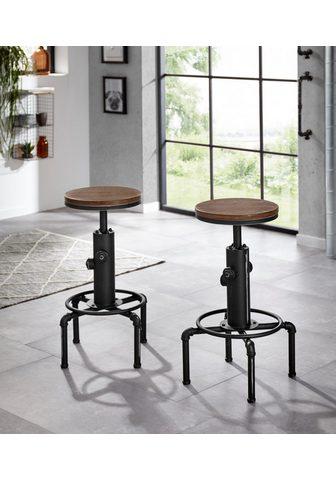 HOMEXPERTS Baro kėdė »Solid« (2 vienetai)