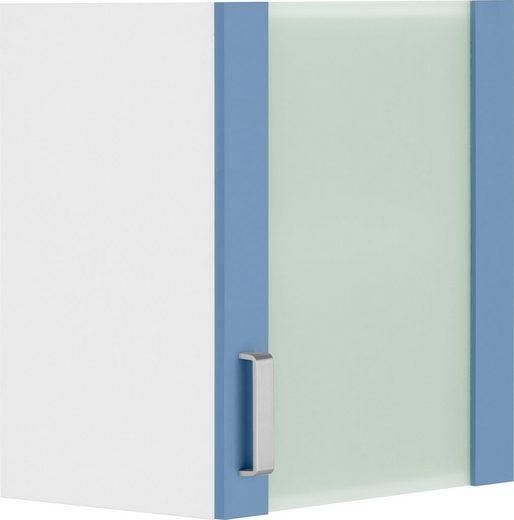 wiho Küchen Glashängeschrank »Husum« Front mit Glaseinsatz