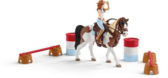 Schleich® Spielfigur »Horse Club, Hannahs Western-Reitset (42441)«, (Set)
