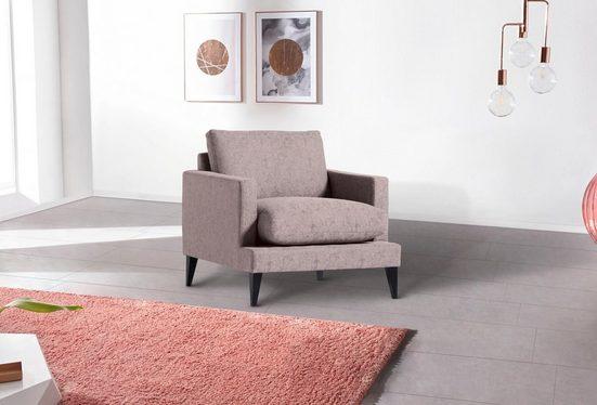 INOSIGN Sessel »Zelis«, in Flauschiger-Optik