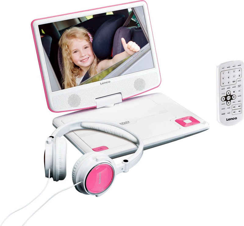 Lenco »DVP-910« Portabler DVD-Player