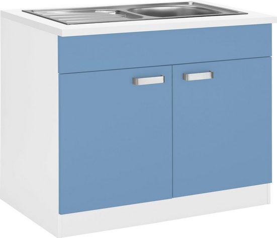wiho Küchen Spülenschrank »Husum« 100 cm breit