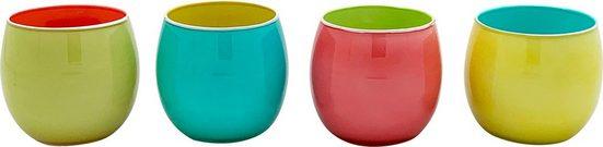 Teelichthalter (Set, 4 Stück)